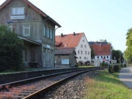 Bahnhof in Gomadingen