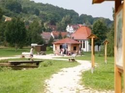 Grillplatz am See