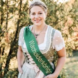 Wacholderkönigin Anja Winter