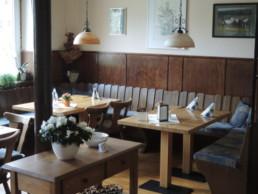 Innenansicht Gastraum Gestütsgasthof
