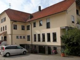 Frontansicht Hotel Hirsch