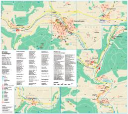Kartenauschnitt Gomadingen und Umgebung