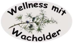 Logo Wellness mit Wacholder