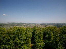 Ausblick vom Sternbergturm