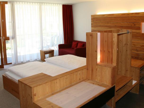 Hotelzimmer Innenansicht