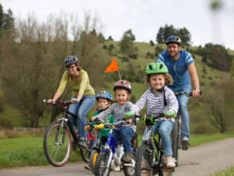 Familien-Radtour