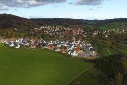 Luftbild von Gomadingen