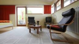 Innenansicht Wohnbereich Ferienappartement